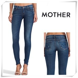 Mother Loocker Smoke and Mirrors Skinny Jeans